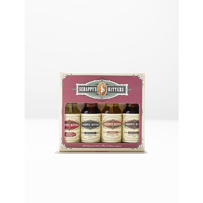 Essentials Mini Set with Orange, Aromatic, Chocolate, and Firewater