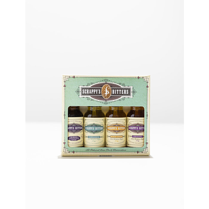 Scrappy's The New Classics Bitters Set, 4x .5oz bottles