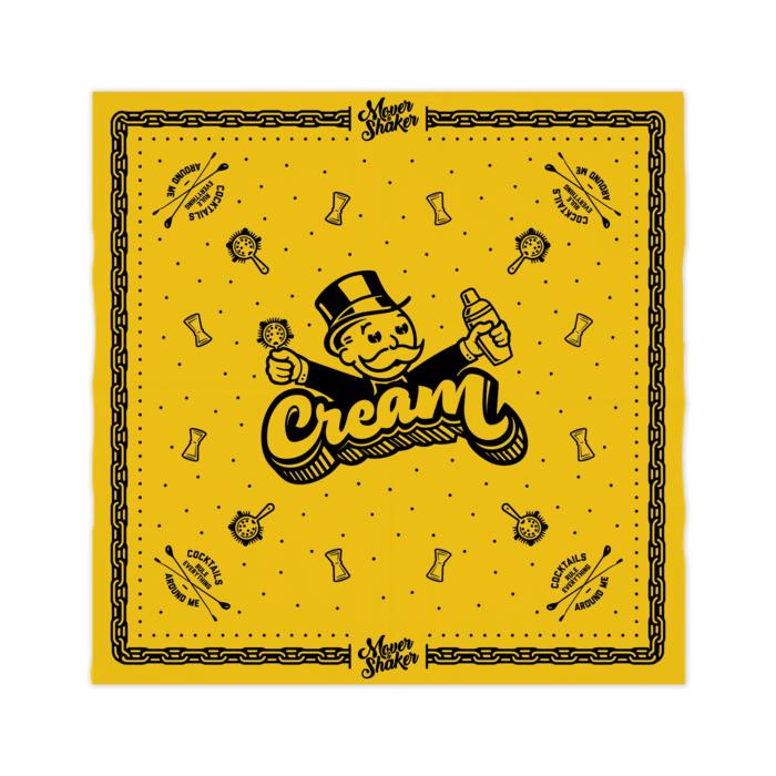 C.R.E.A.M Yellow Bandana