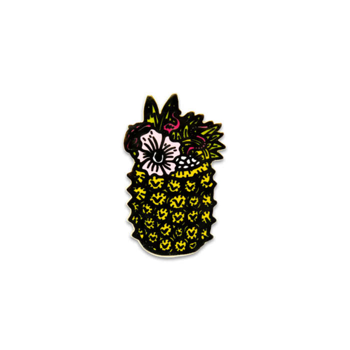 Downfall of Boo Loo Pin, Enamel