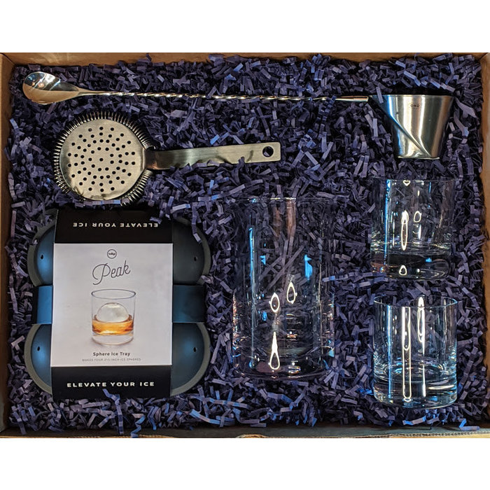 The Deluxe Mixing Glass Kit, for 2