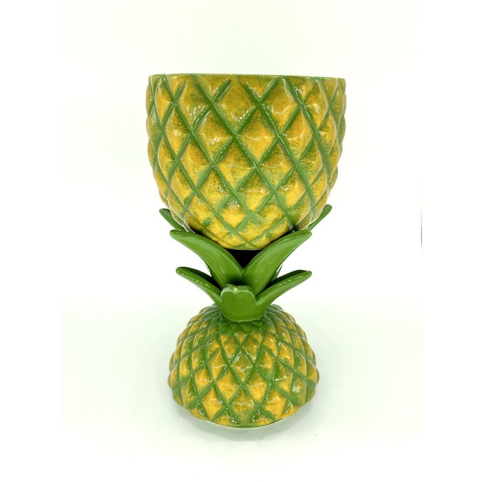 Fresh Pineapple Tiki Mug, 14oz