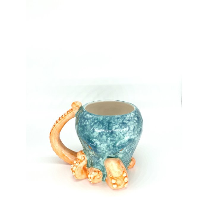 Octopus Tiki Mug, 15oz