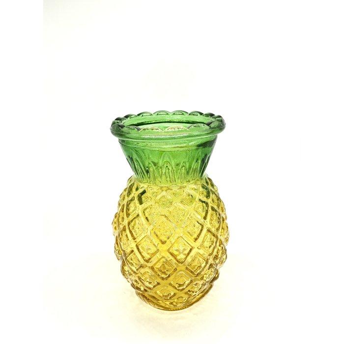 Pineapple Glass Tiki Mug, 20oz