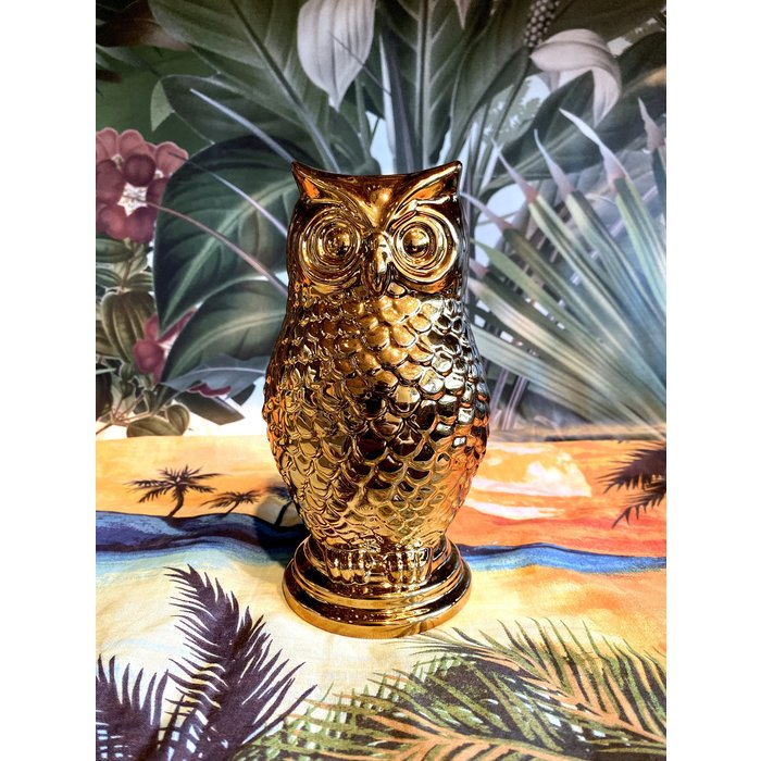 Golden Owl Tiki Mug, 24oz
