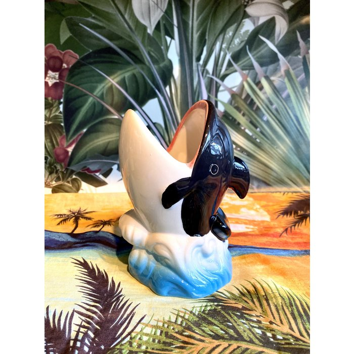 Whale Tiki Mug, 12 oz.