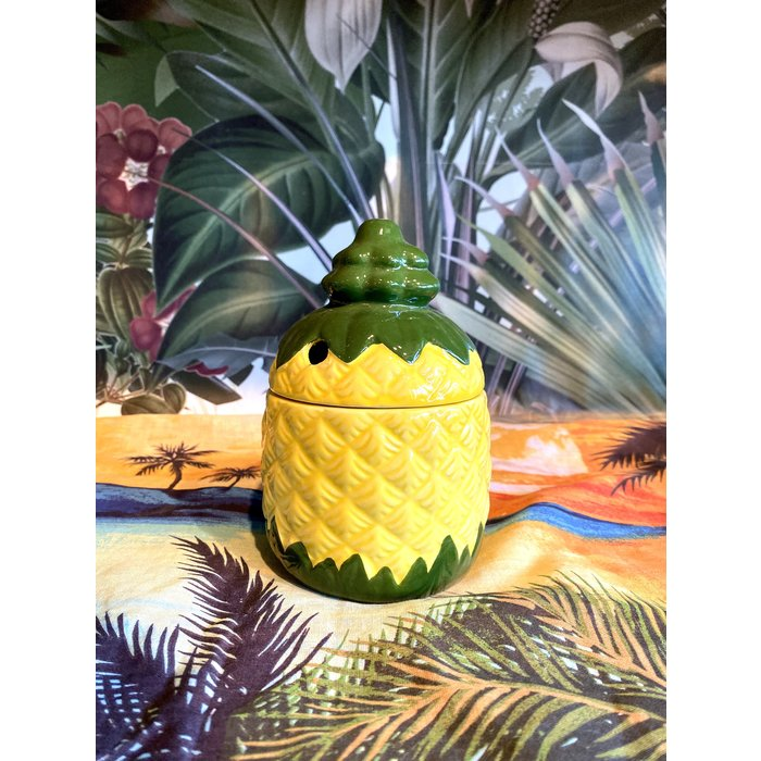 Pineapple Tiki Mug, 12 oz.