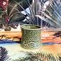 Short and Stubby Ceramic Tiki Mug, 8oz