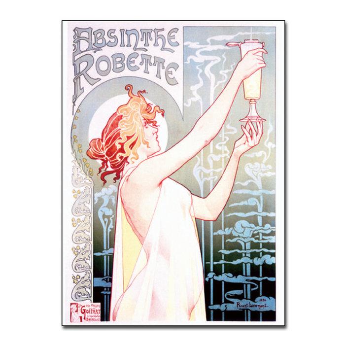 Absinthe Robette Postcards, Set of 10