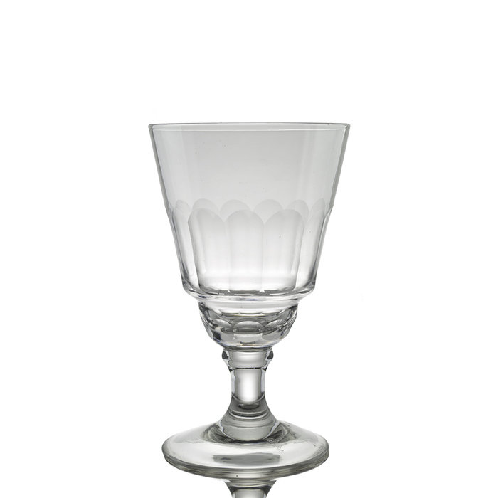 Faceted Absinthe Glass