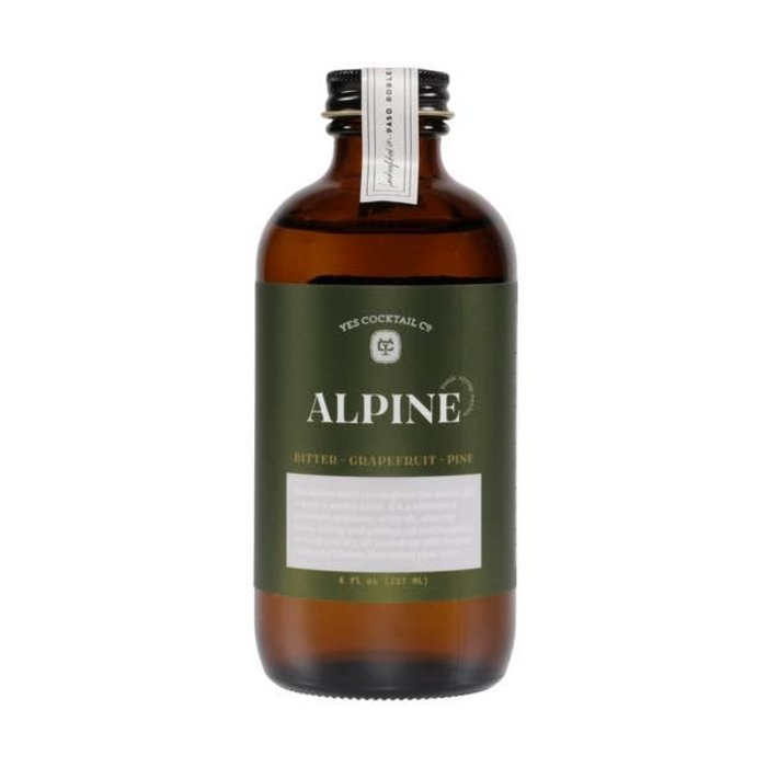 Yes Cocktail Co. Alpine Tonic Syrup, 8oz
