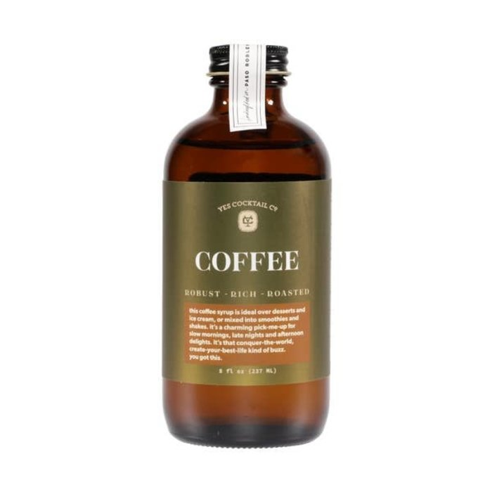 Yes Cocktail Co. Cold Brew Coffee Syrup, 8oz