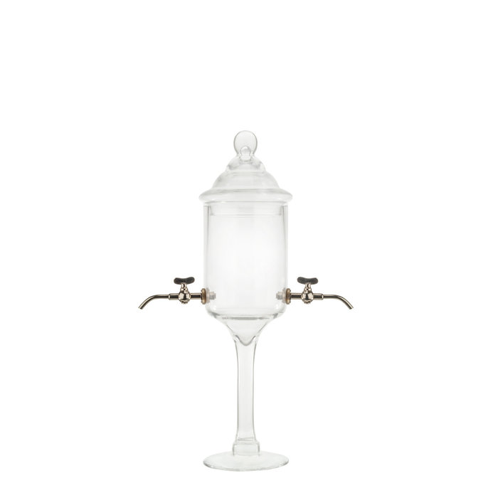 Glass Absinthe Fountain, 2 Spout