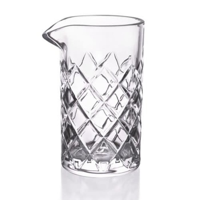 Large Diamond Cut Mixing Glass, 22 oz.
