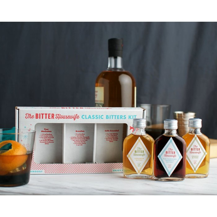 The Bitter Housewife Classic Bitters Set, 50ml.