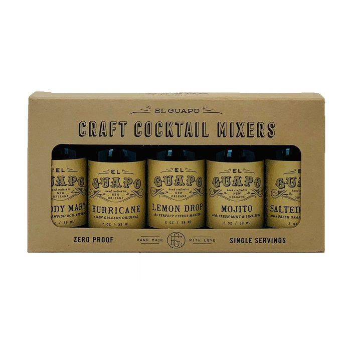 El Guapo Craft Cocktail Gift Sampler Set