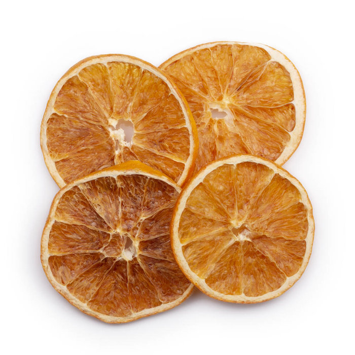 Yes Cocktail Co. Dehydrated Cocktail Garnishes: 6x Orange slices