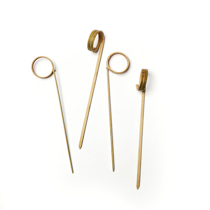 Bamboo Ring Picks, 50 count