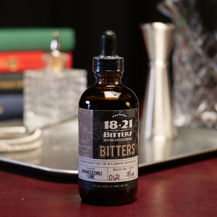 Japanese Chili & Lime Bitters, 4 oz.