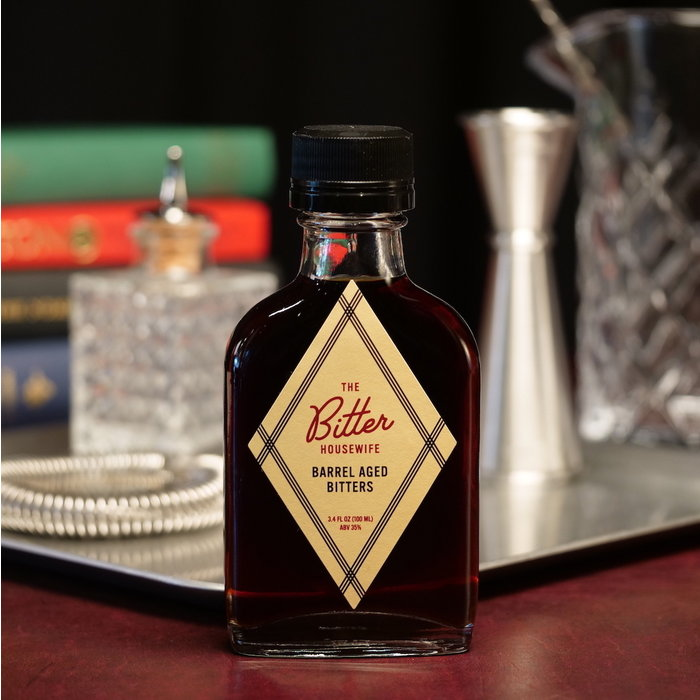 The Bitter Housewife Barrel Aged Bitters, 100ml.