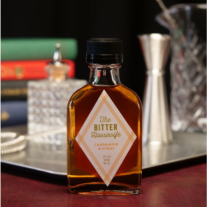 The Bitter Housewife Cardamom Bitters, 100ml.