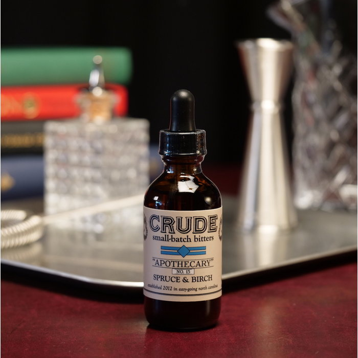 """Crude """"Apothecary"""" #15 Spruce and Birch Bitters"""