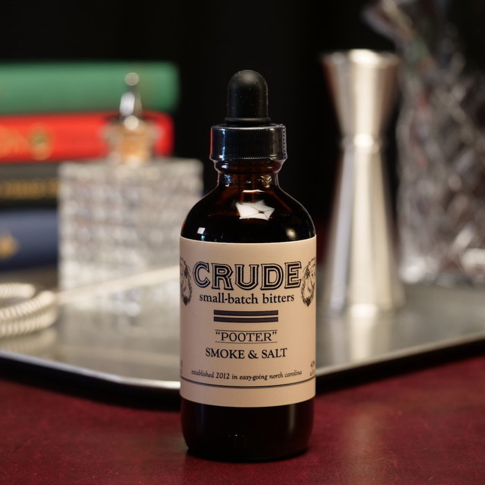 "Crude ""Pooter"" Smoke & Salt, 4oz"