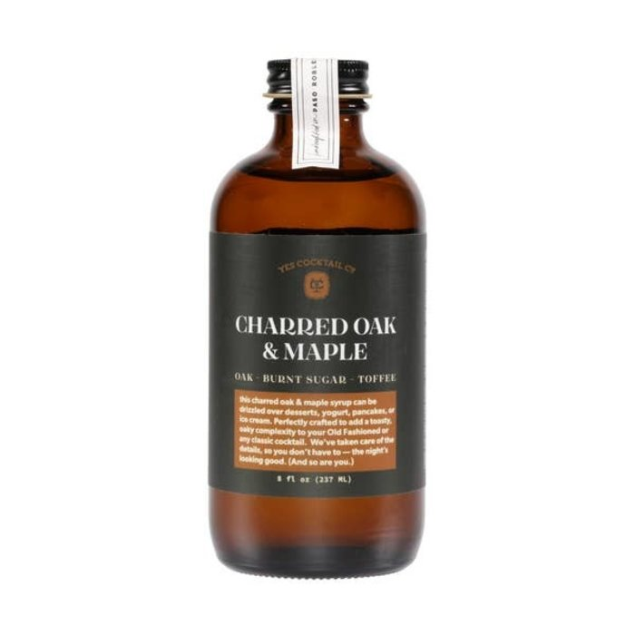 Yes Cocktail Co. Charred Oak and Maple Syrup, 8oz