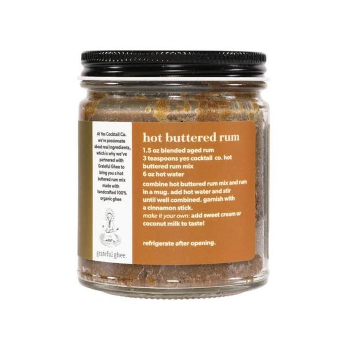 Yes Cocktail Co. Hot Buttered Rum Mix, 8oz