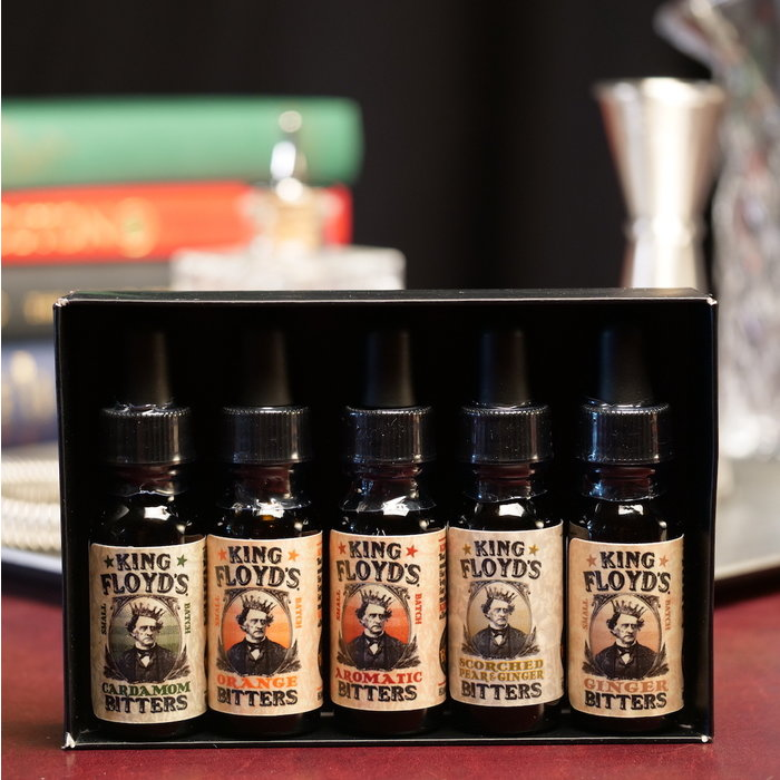 King Floyd's Bitters Gift Set, 5x .5oz Bottles