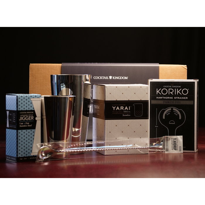 Cocktail Kingdom Essential Cocktail Set, Stainless