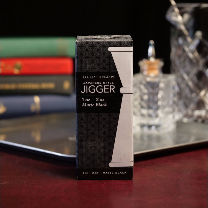 Japanese-Style Jigger, 1oz x 2oz Matte Black