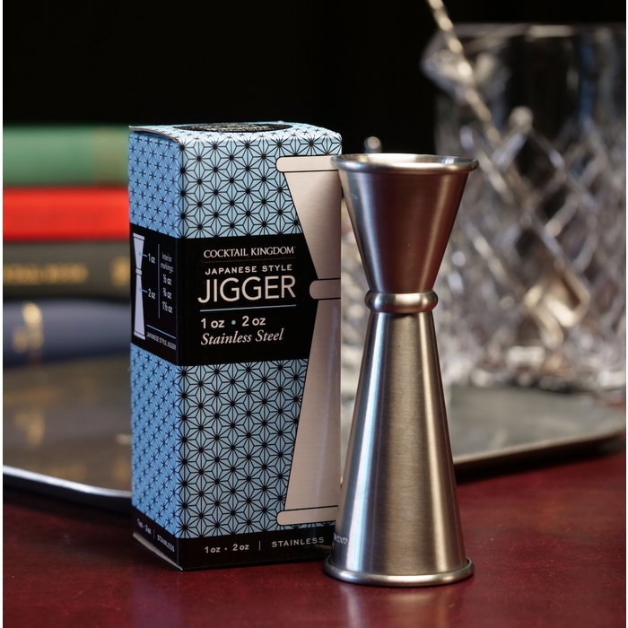 Cocktail Kingdom Japanese-Style Jigger, 1oz x 2oz