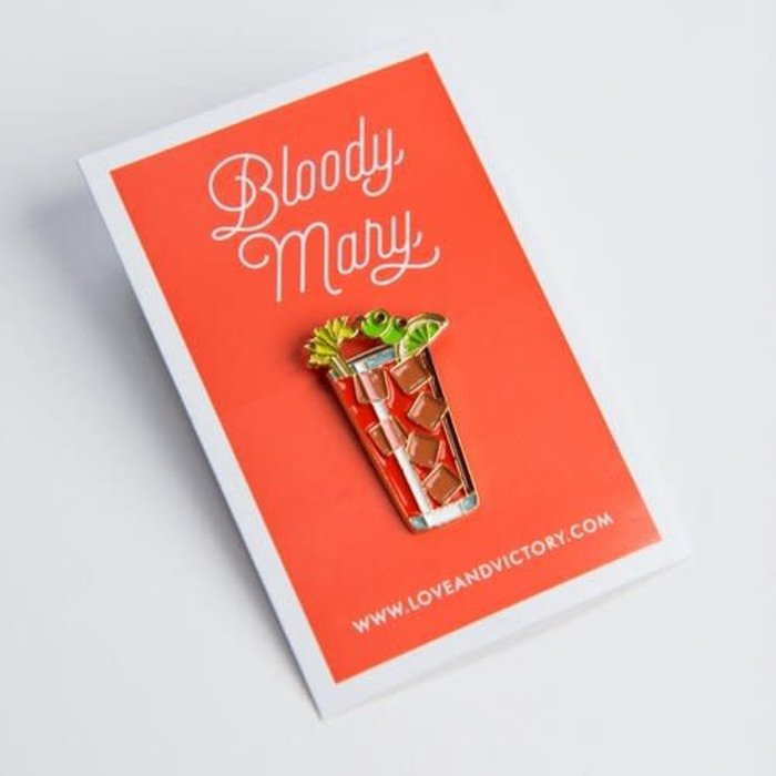 Love & Victory Bloody Mary Pin