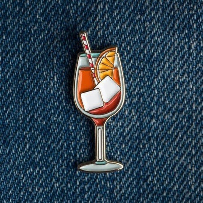 Love & Victory Aperol Spritz Pin