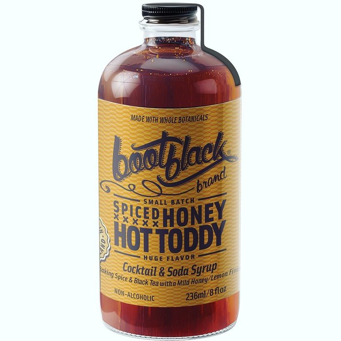 Bootblack Spiced Honey Hot Toddy Syrup, 8oz
