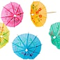 Tropical Drink Umbrellas, Single