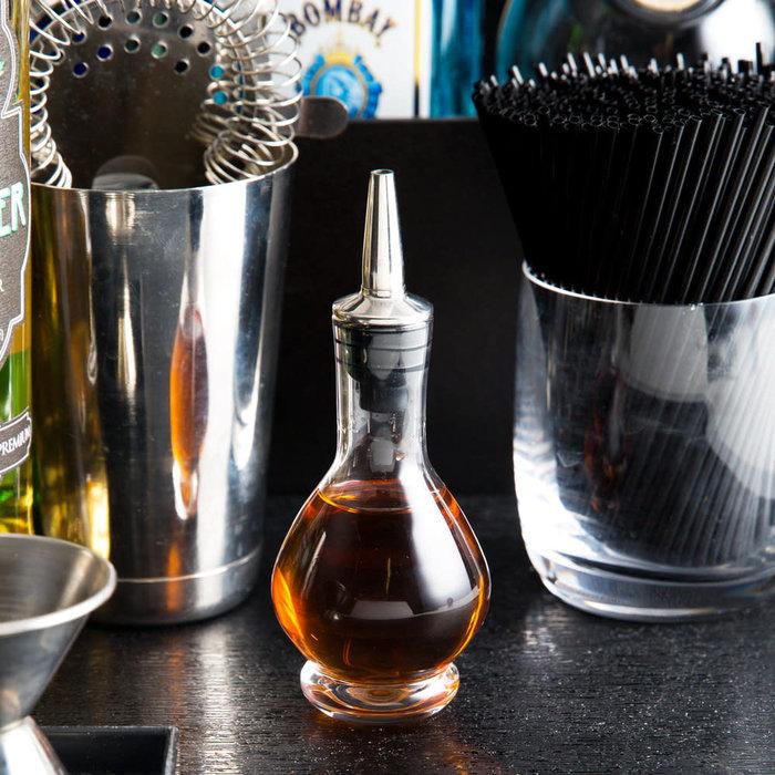 70ml Bitters Bottle w/ Stainless Steel Dasher