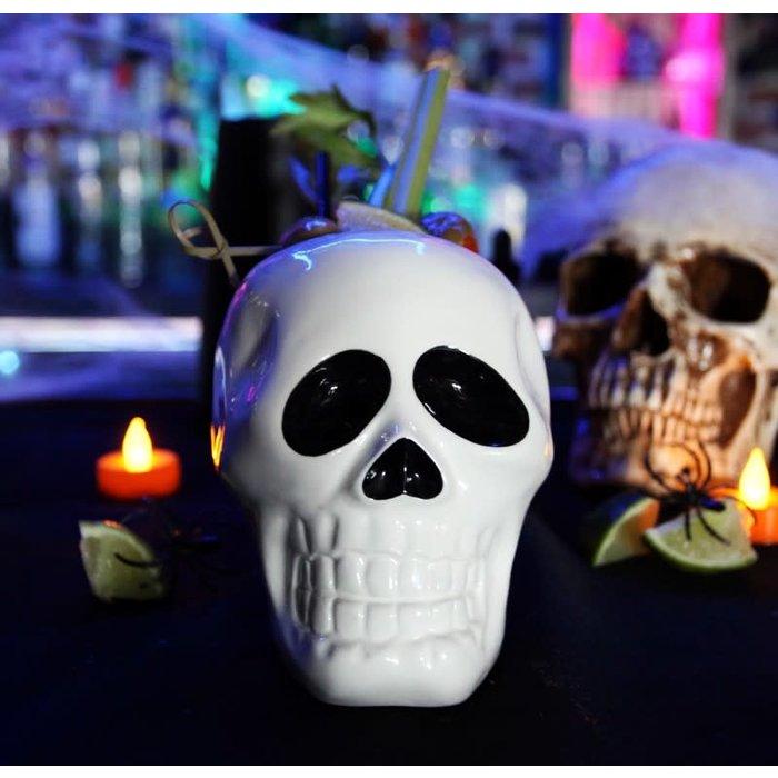 Skull Tiki Mug, 18oz