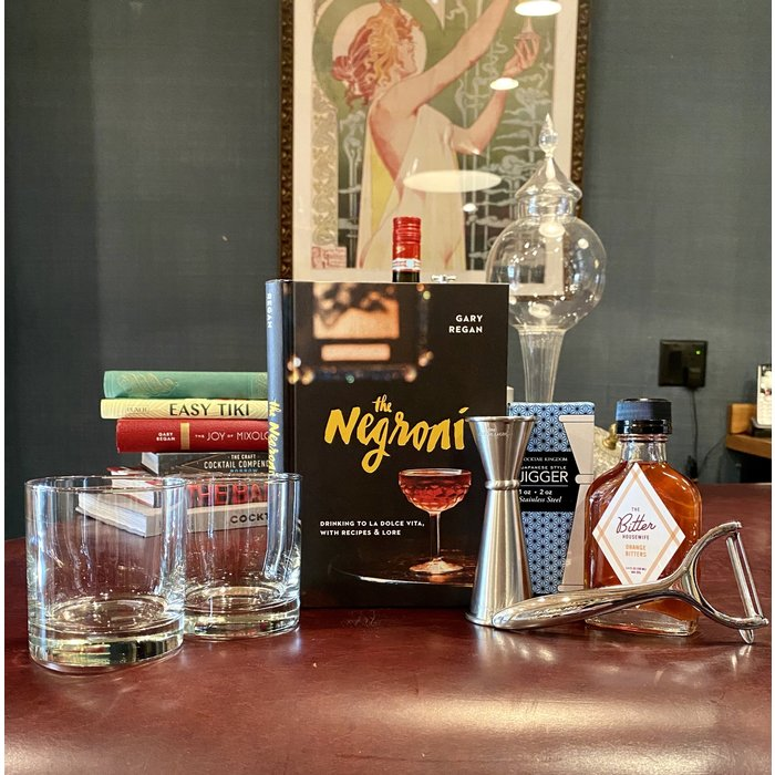 The Deluxe Negroni Kit
