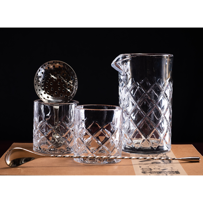The Diamond Mixing Glass Kit