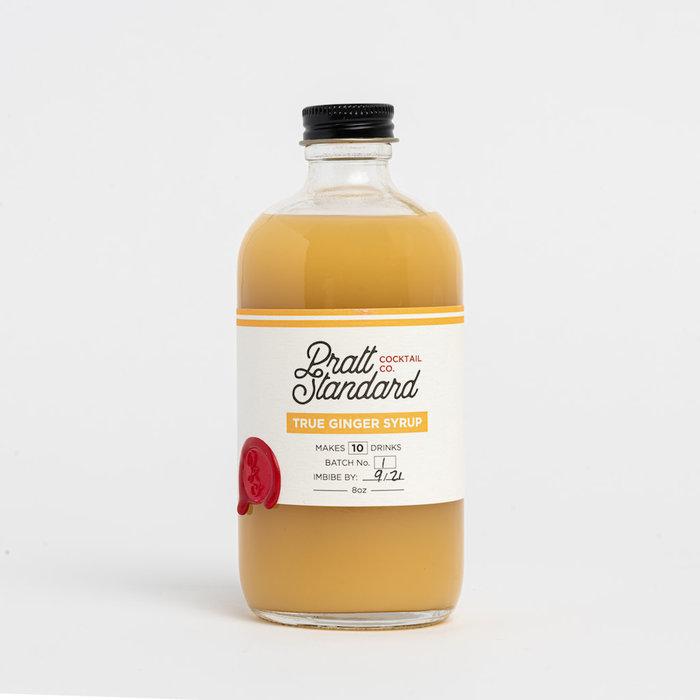 Pratt Standard Ginger Syrup, 8oz
