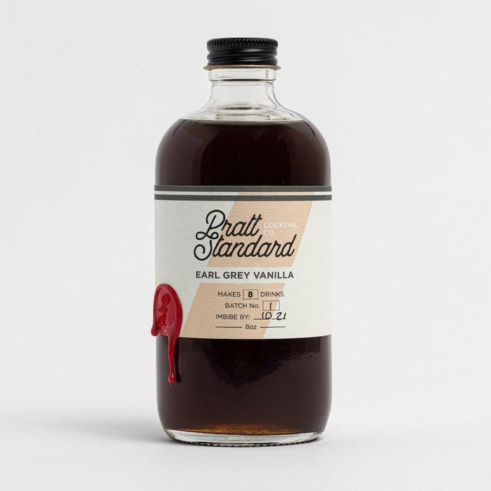 Pratt Standard Earl Grey Vanilla Syrup, 8oz