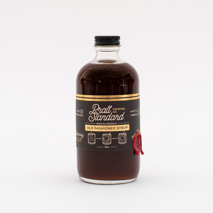 Pratt Standard Old Fashioned Syrup, 8oz