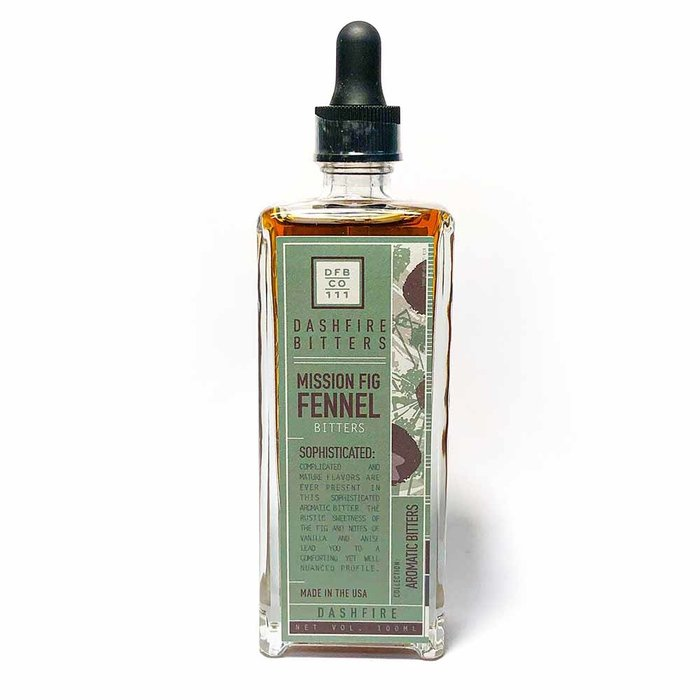Dashfire Mission Fig & Fennel Bitters, 100ml (3.4oz)