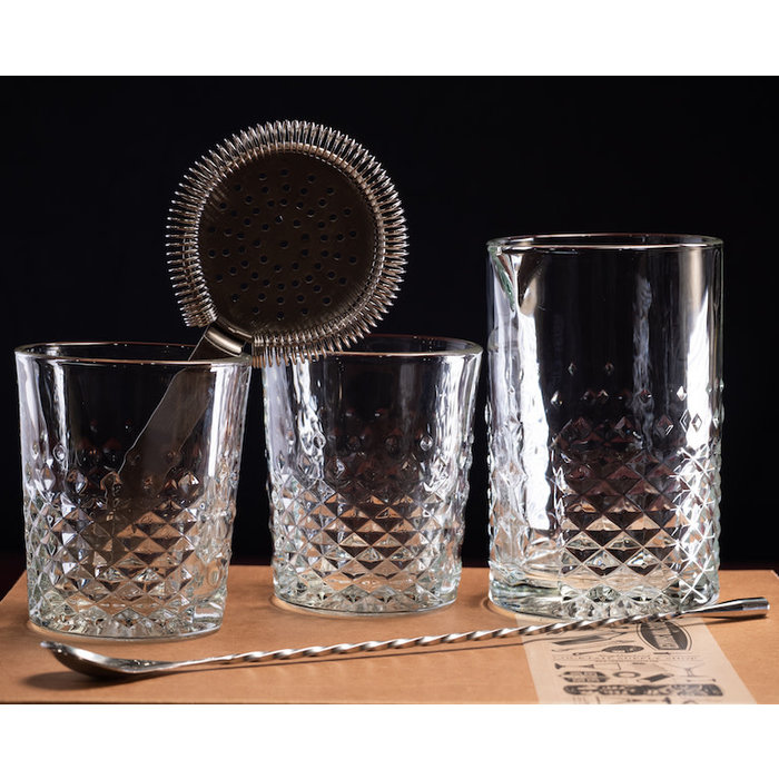 The Carats Mixing Glass Kit
