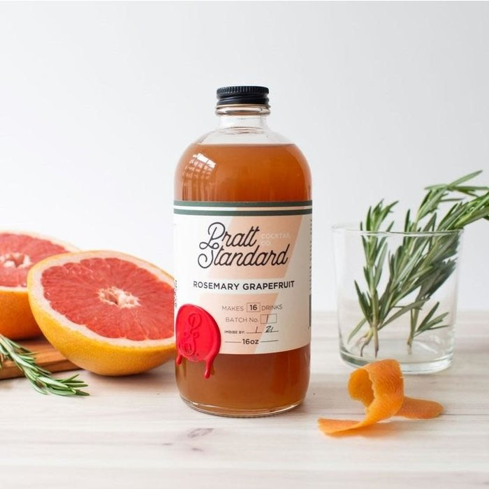 Pratt Standard Rosemary Grapefruit Syrup, 16oz
