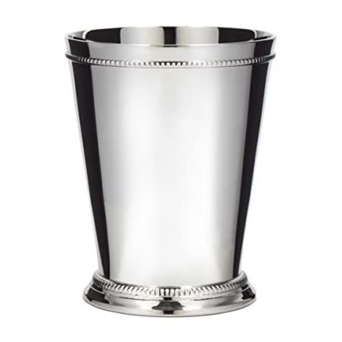 Cocktail Kingdom Silver Plated Julep Cup, 12oz.