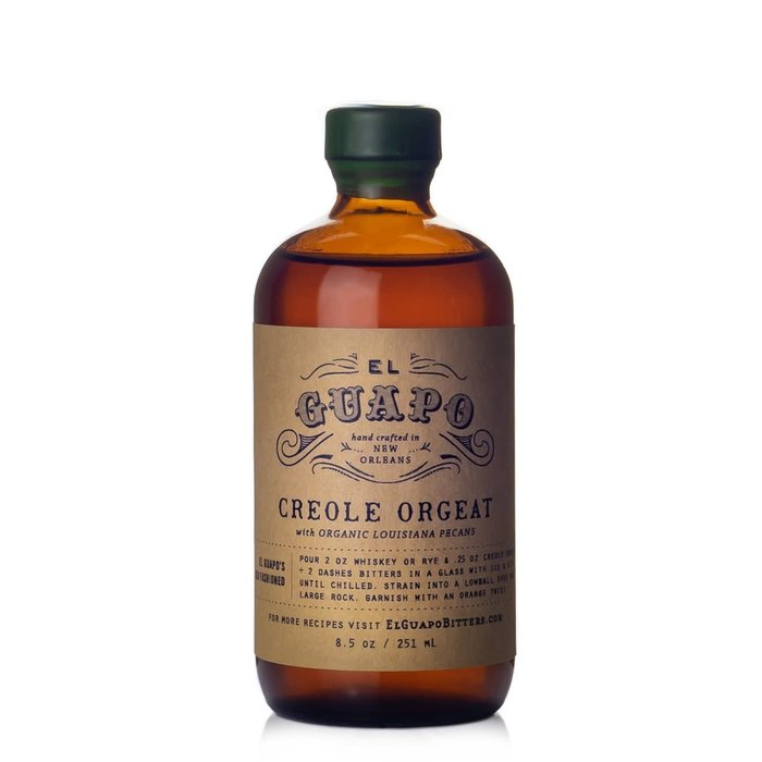 Creole Pecan Orgeat Syrup, 8.5oz