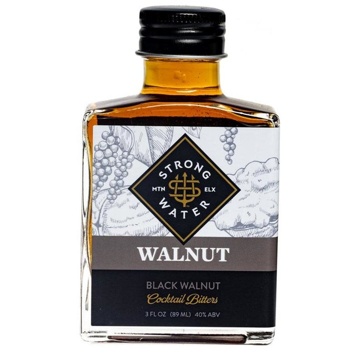 Strongwater Black Walnut Bitters, 3oz